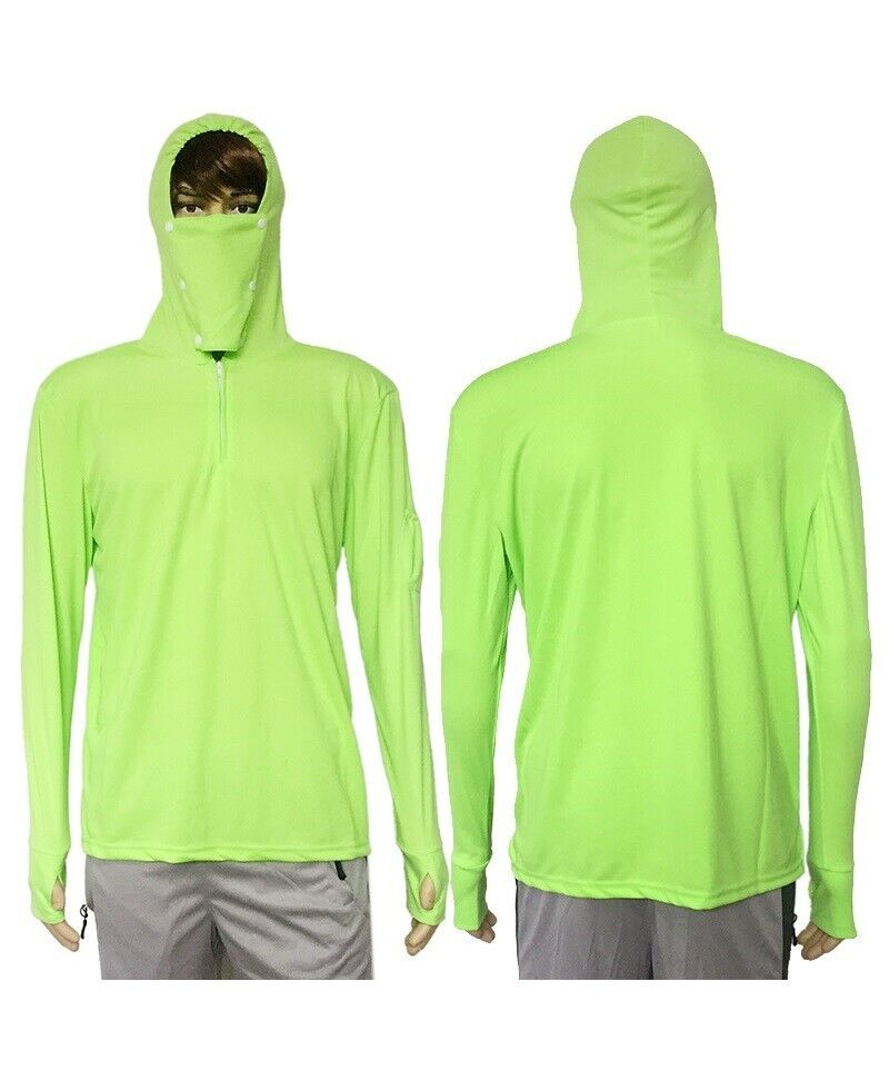 fishing clothes shirts sun protect anti uv breathable white green men quick dry ebay. Black Bedroom Furniture Sets. Home Design Ideas
