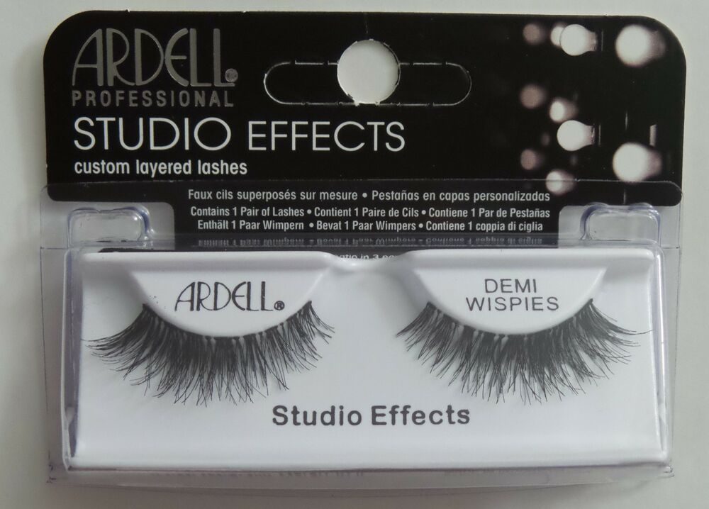 da4097de4c6 (LOT OF 6) Ardell Studio Effects DEMI WISPIES Eyelashes Black Invisibands |  eBay