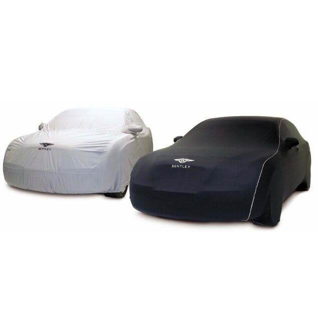 Bentley Continental GT Black Embroidered Outdoor Car Cover