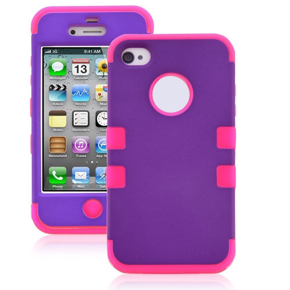 iphone 4s cases amazon grape pink armor impact defender hybrid cover 14423