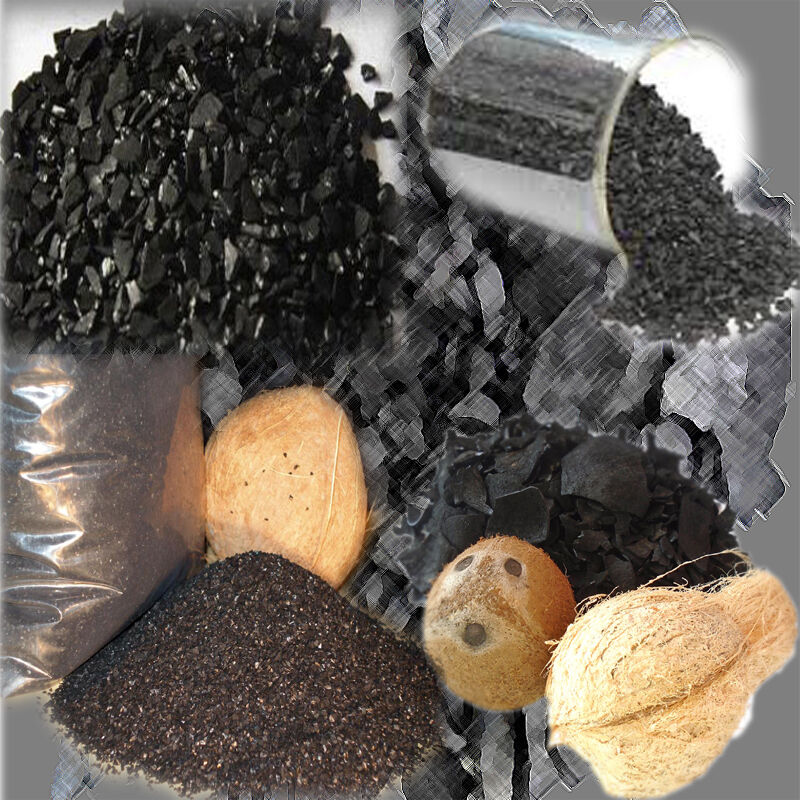 how to make activated charcoal from coconut shell