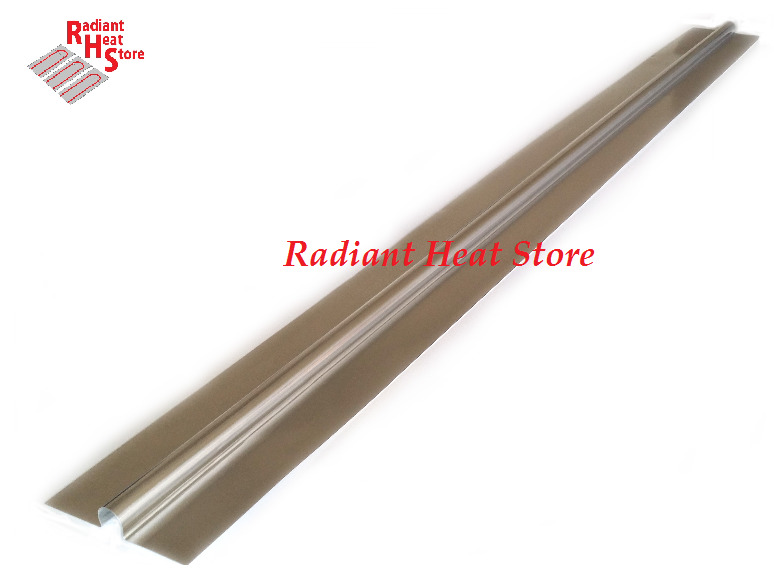 4 Foot Aluminum Snap On Omega Radiant Floor Heat Transfer