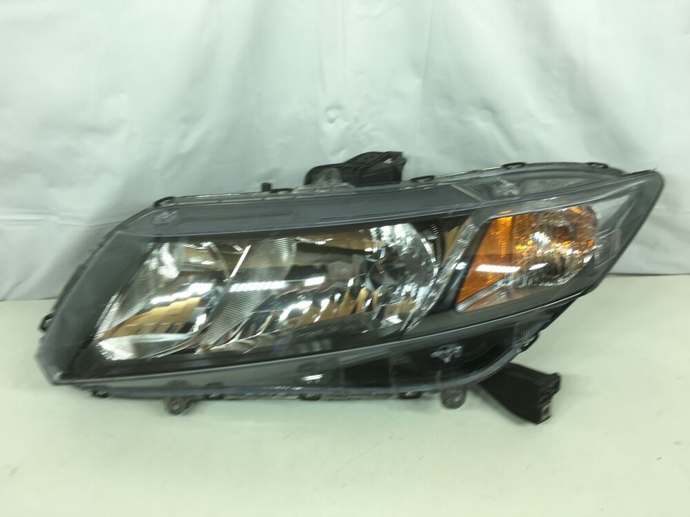 2013 2015 honda civic headlight oem lh driver ebay. Black Bedroom Furniture Sets. Home Design Ideas