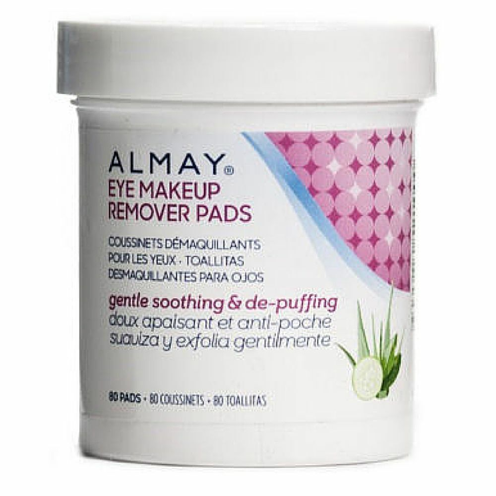Almay eye makeup remover review