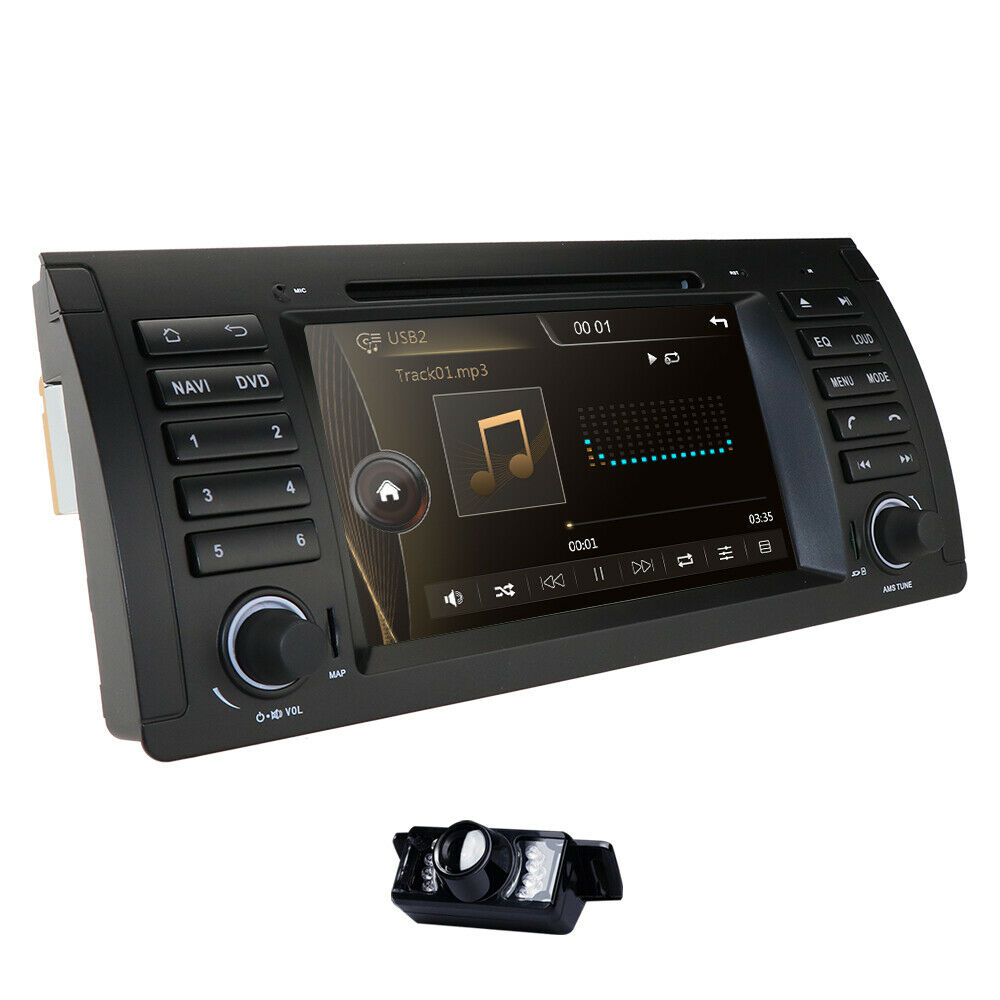 hizpo car radio 1 din 7 touch stereo dvd gps navigation. Black Bedroom Furniture Sets. Home Design Ideas