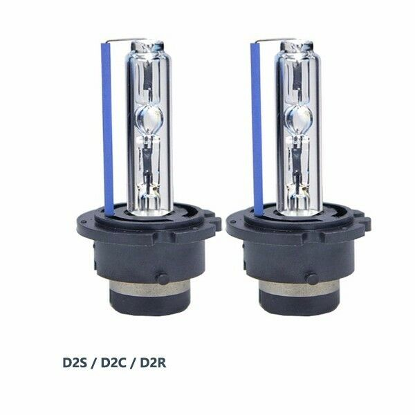 pair new hid xenon bulbs d2s 8000k d2r replace osram or. Black Bedroom Furniture Sets. Home Design Ideas