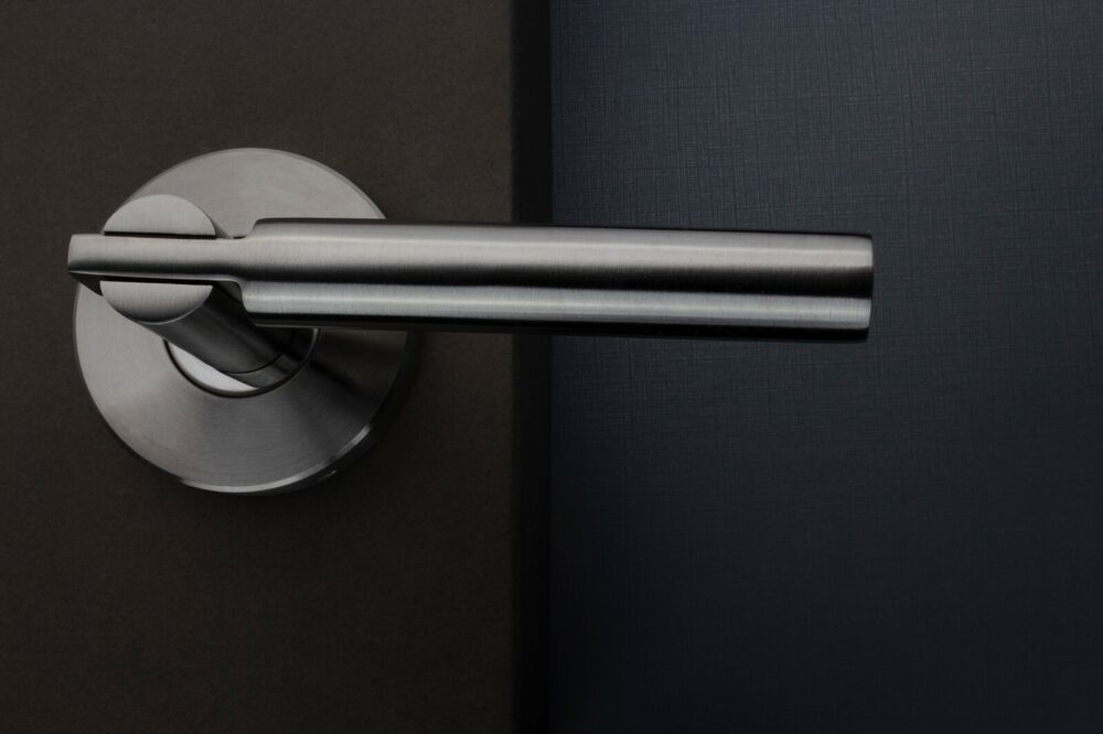 Saturn Modern Door Lever Door Handle Privacy Passage Dummy