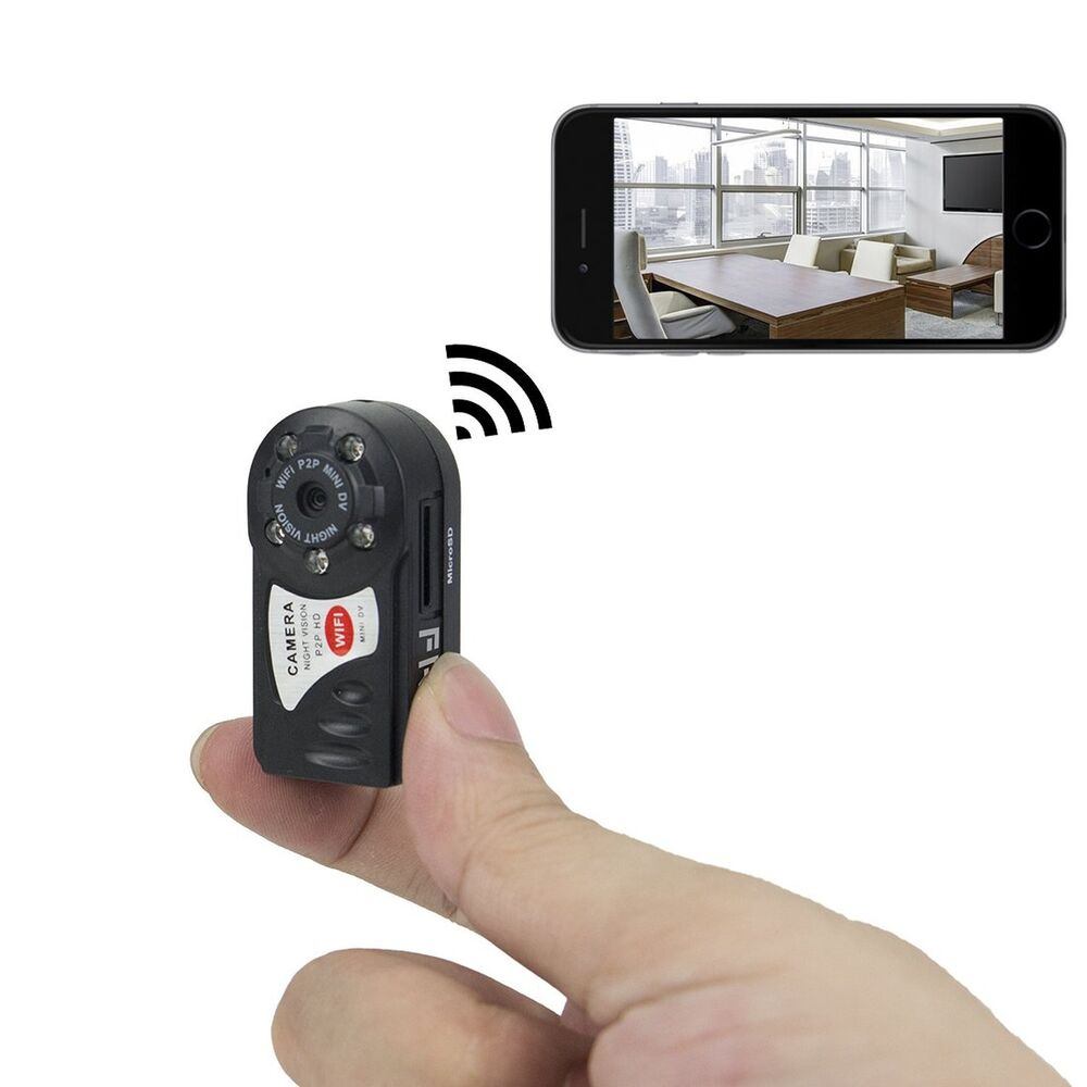 Spy Outdoor Camera >> FREDI Motion activated mini hidden camera 720p HD mini wifi camera spy camera | eBay