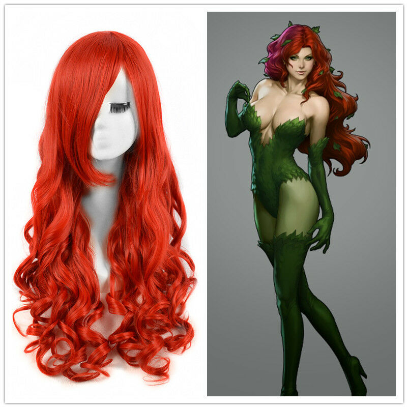 poison ivy hair style dc comics poison wigs mermaid hair 2354 | s l1000