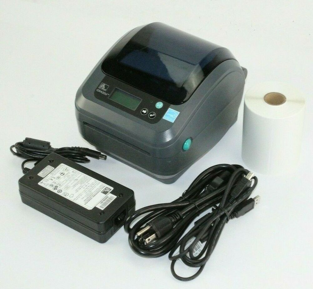 Zebra Zp450 Usb Thermal Label Printer Barcode Amp 250