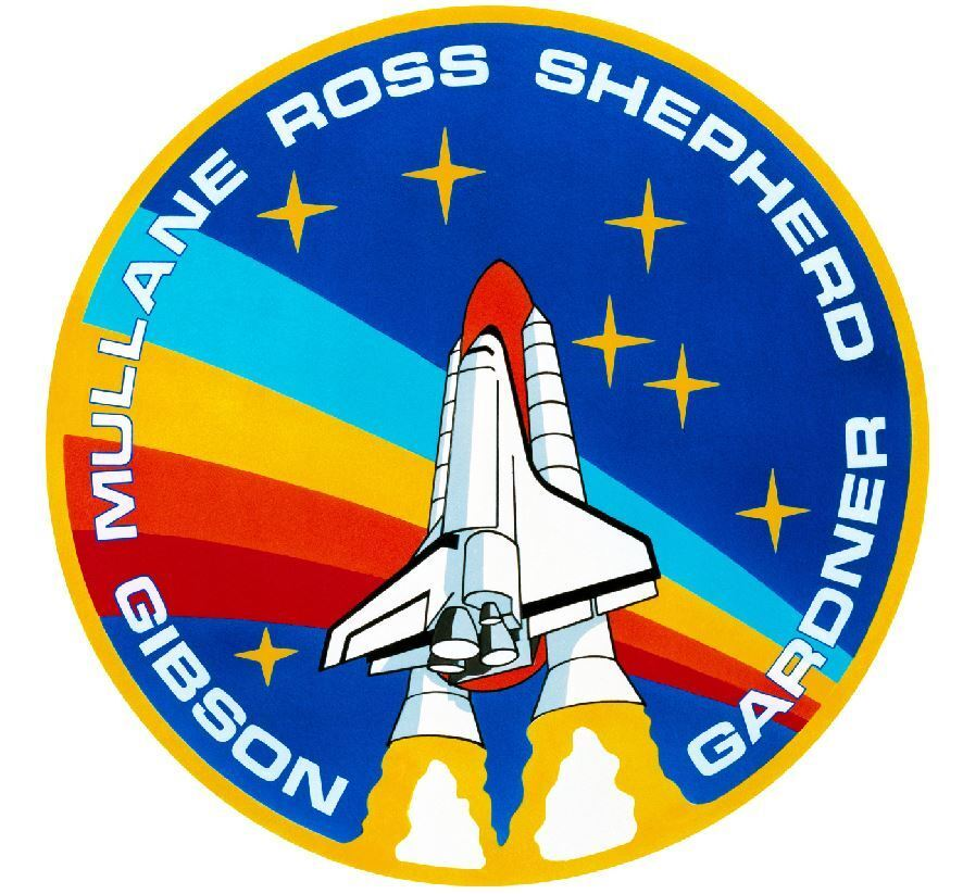 Nasa Space Shuttle Sticker Armed Forces Decal M460 Ebay