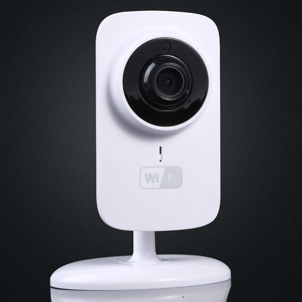 wifi mini home security wireless video baby monitor night vision camera720p hd ebay. Black Bedroom Furniture Sets. Home Design Ideas