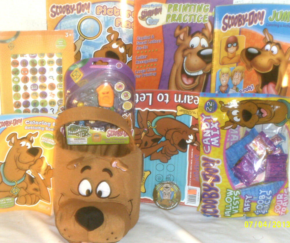 NEW SCOOBY DOO EASTER TOY GIFT BASKET BIRTHDAY GIFT ACTION