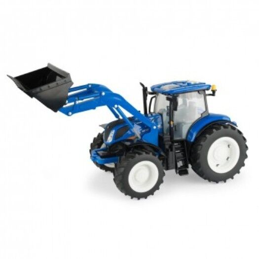 New Holland Tractor People : Scale new holland big farm t loader tractor