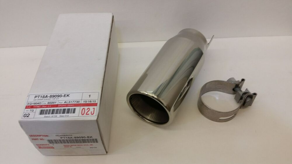 Toyota Oem Factory Stainless Exhaust Tip 2008 2013
