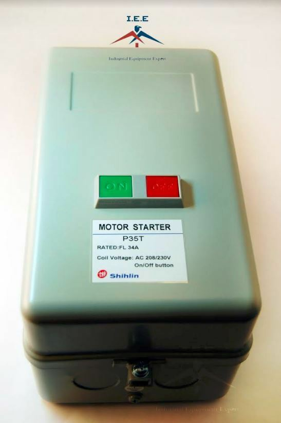 Magnetic Motor Starter Control With Push Button On    Off