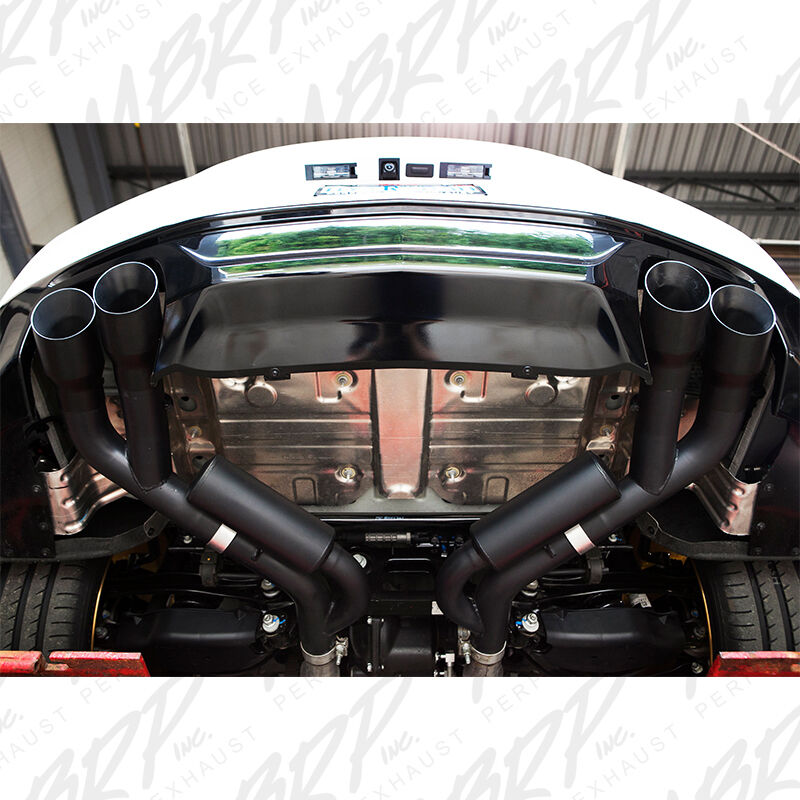 Details About Mbrp 2016 2019 Chevrolet Camaro Ss Manual Quad Tip Axleback Exhaust System Black