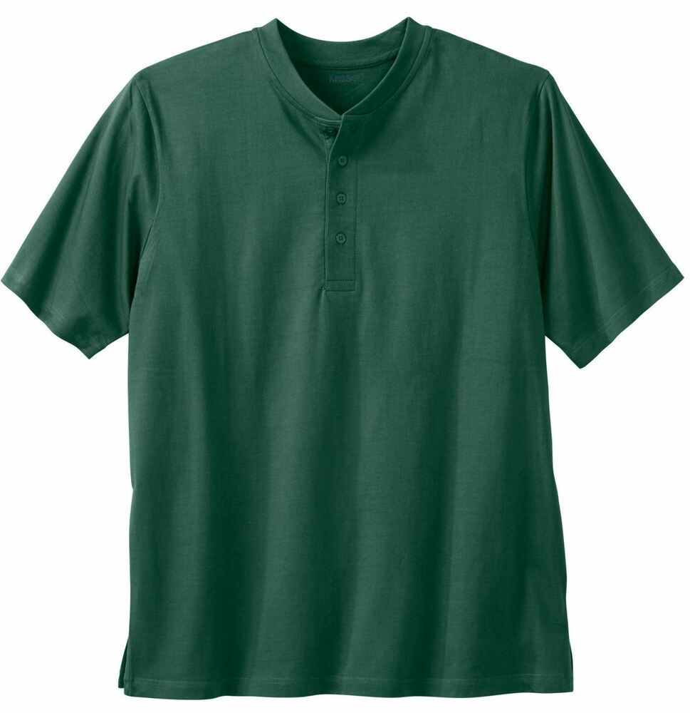 Big tall mens green short sleeve shirt sizes 3xl 5xl for Tall mens dress shirts