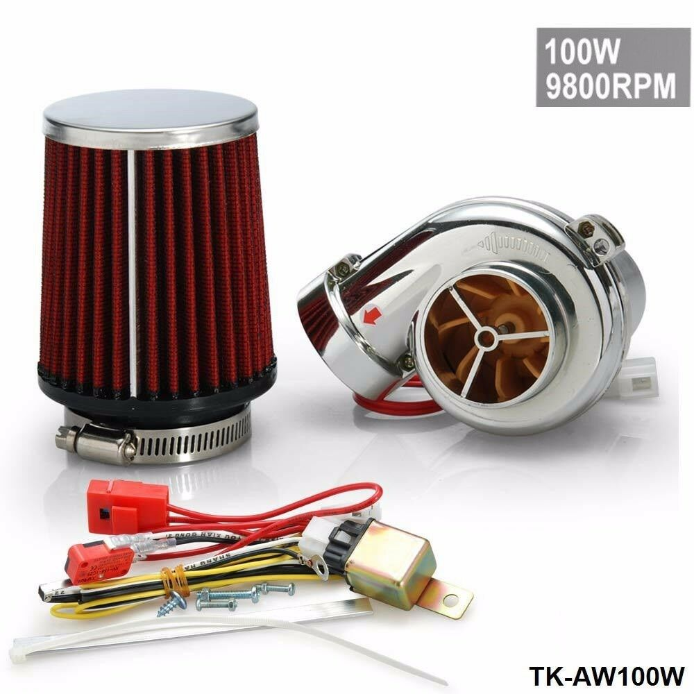Universal Electric Turbo Review: ELECTRIC TURBO / SUPERCHARGER KIT / UNIVERSAL FIT RIDE ON