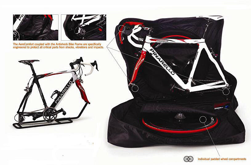 Travel Bike Bag Wheels