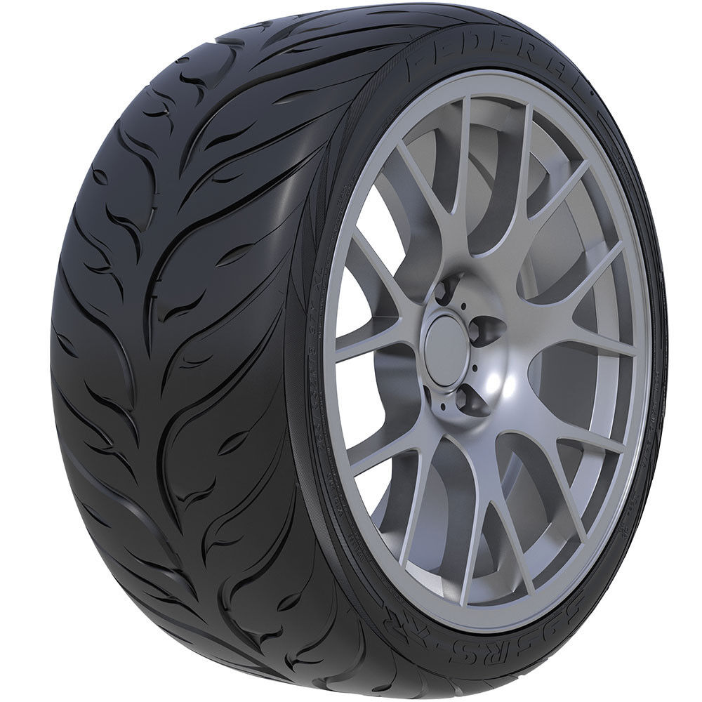 18 federal 595rs rr tire 225 40zr18 1 new tire 225 40 18 92w xl ebay. Black Bedroom Furniture Sets. Home Design Ideas