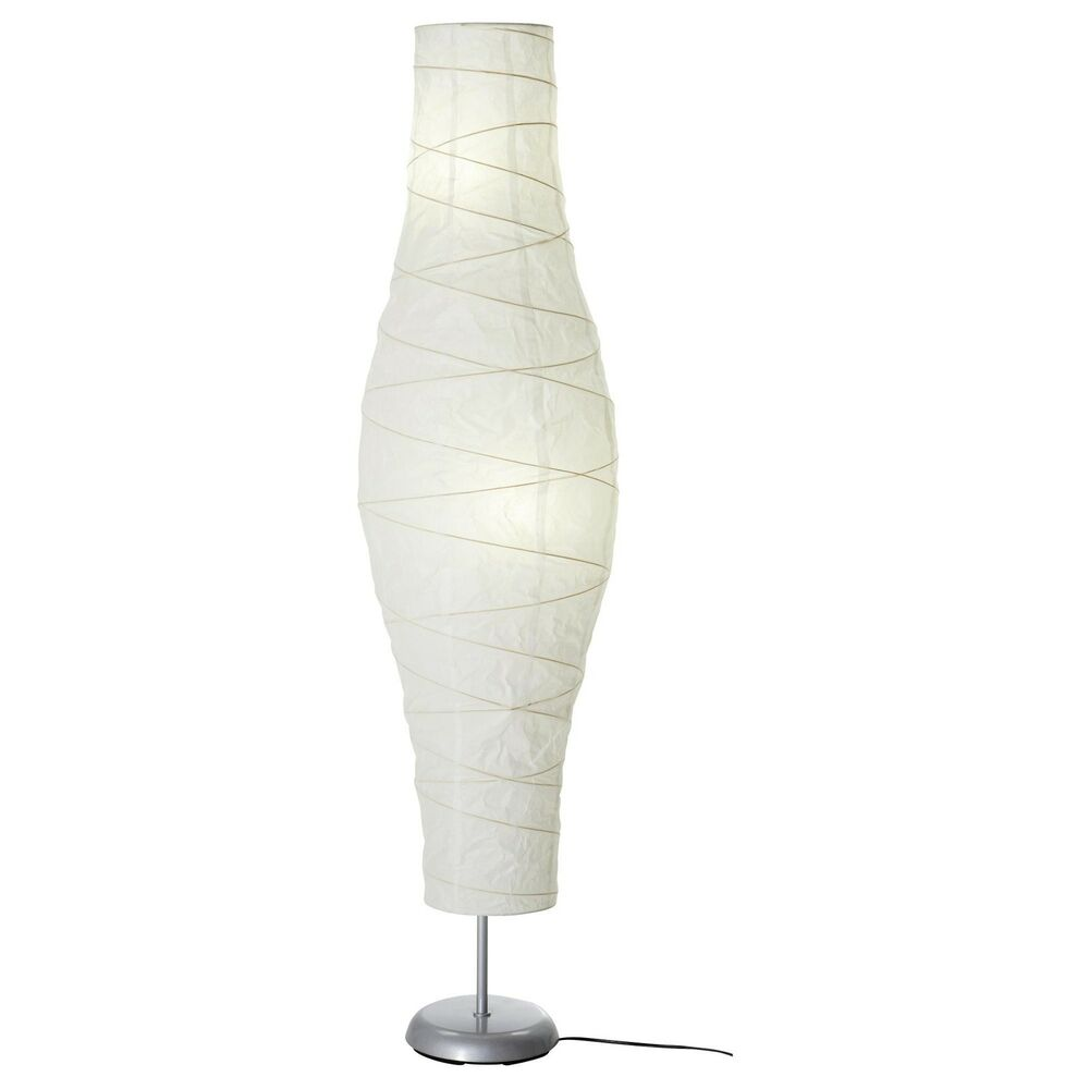 New ikea floor lamp silver color white living room lamps for Floor lamps for living room
