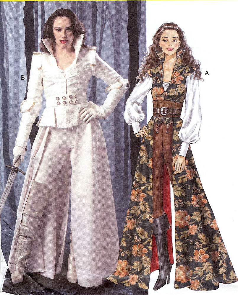 Once Upon A Time Costumes: PATTERN For Modern Fairy Tale Costume McCalls 6819 Sz 6-22
