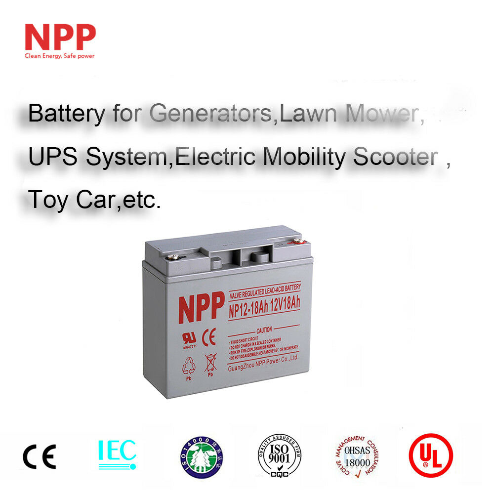 npp 12v 18 amp 18ah 20ah replacement for ub12180 d5745 agm sla battery ebay. Black Bedroom Furniture Sets. Home Design Ideas