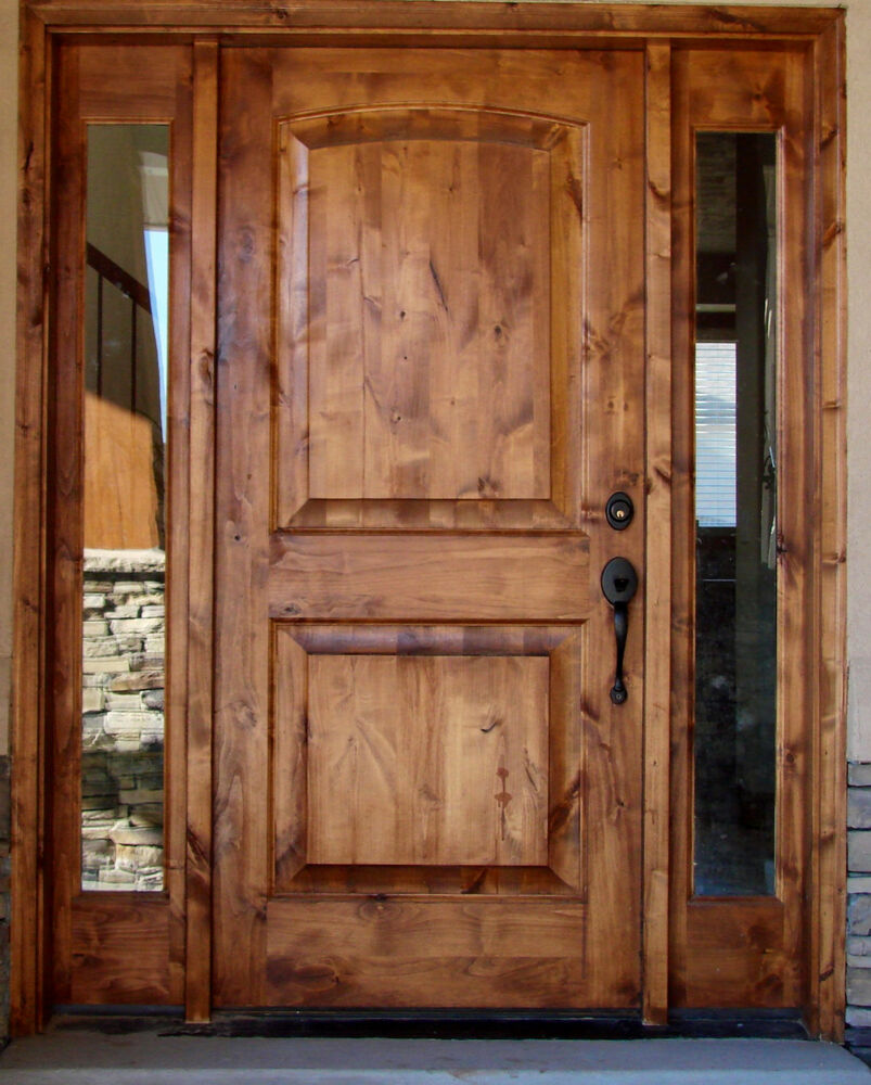 Entry Door With Side Lite Tuscany Design Ebay