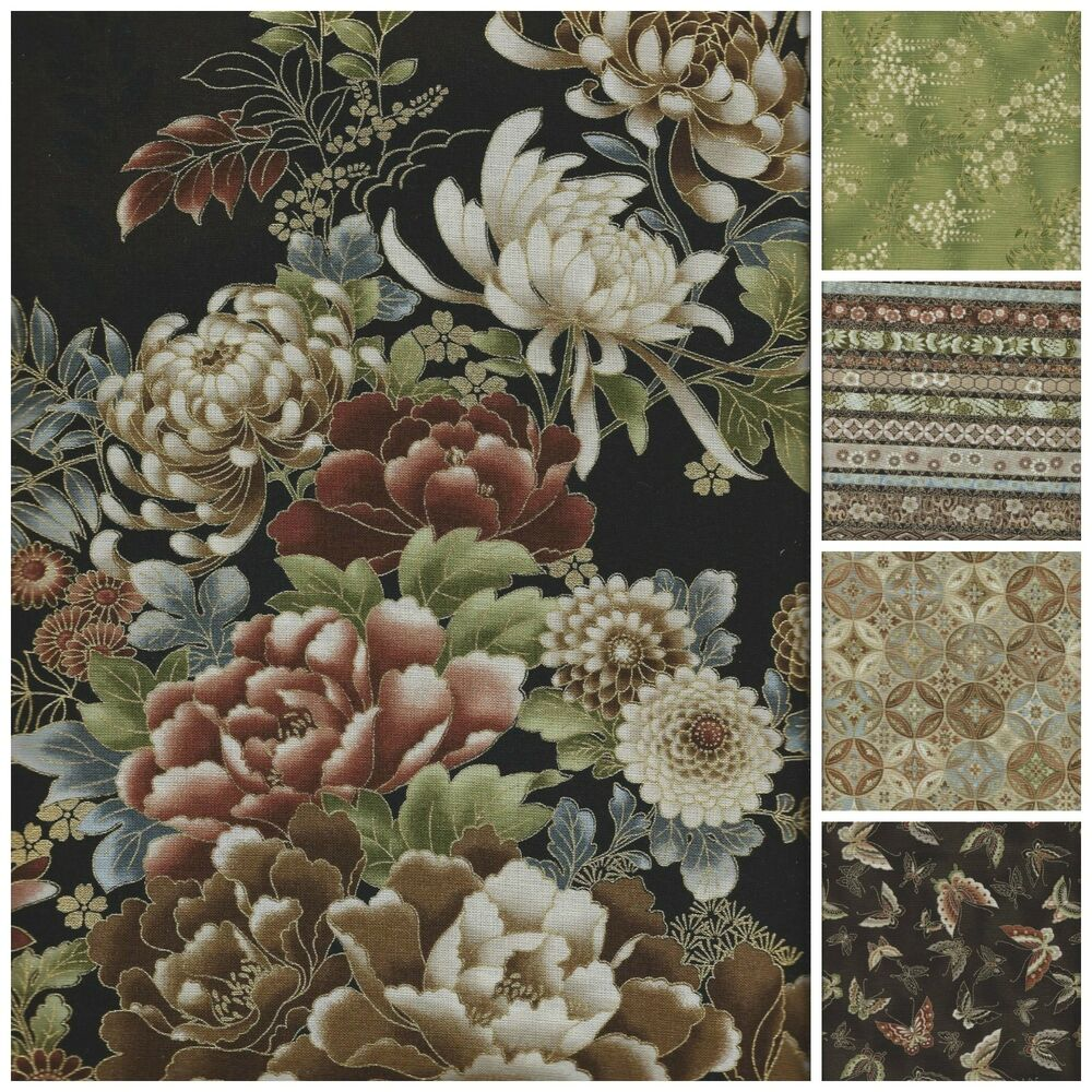 Asian Inspired Fabric 113