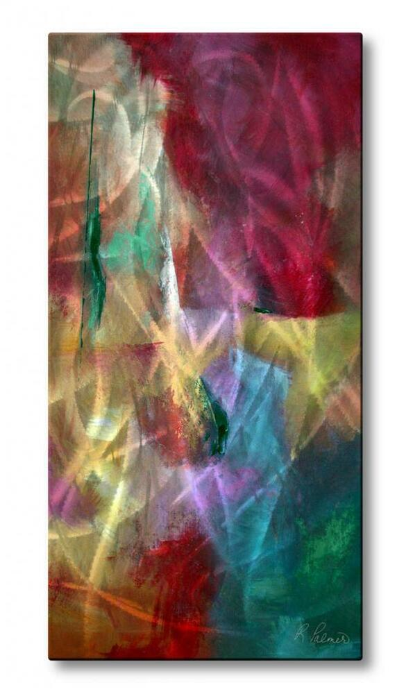 Ruth Palmer Ecstasy Abstract Wall Sculpture Metal Art