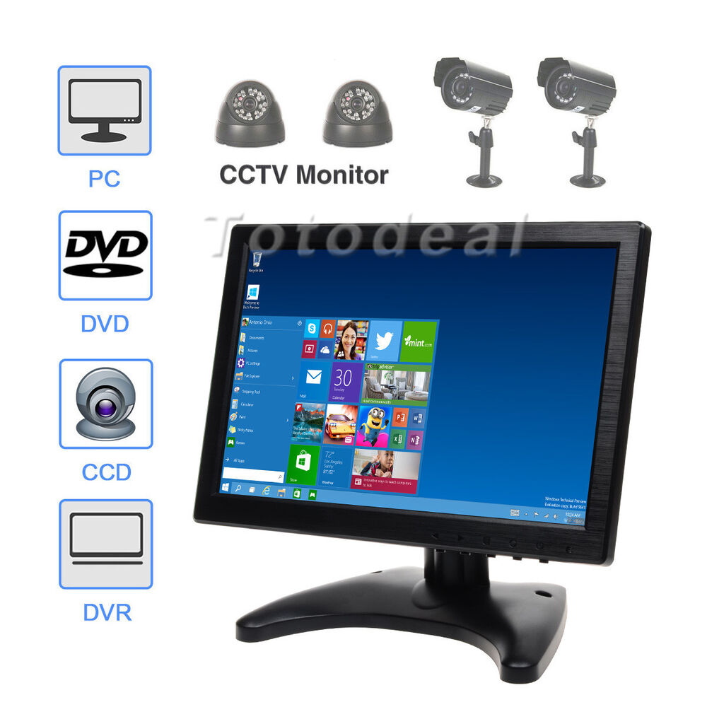 ultra thin touch screen 10 hd color ips touchscreen monitor hdmi au ebay. Black Bedroom Furniture Sets. Home Design Ideas
