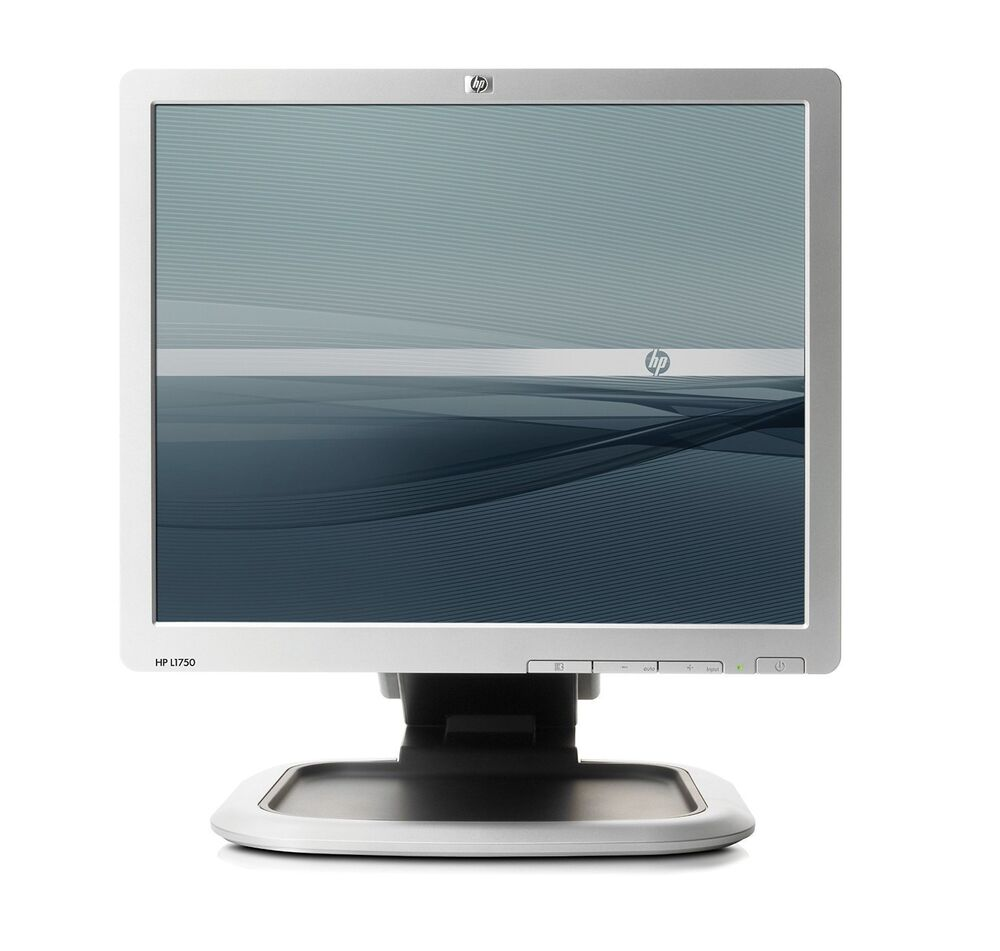 17 flat lcd tft monitor vga pc computer 4 3 display lg hp aoc various hd screen 883585125937 ebay. Black Bedroom Furniture Sets. Home Design Ideas