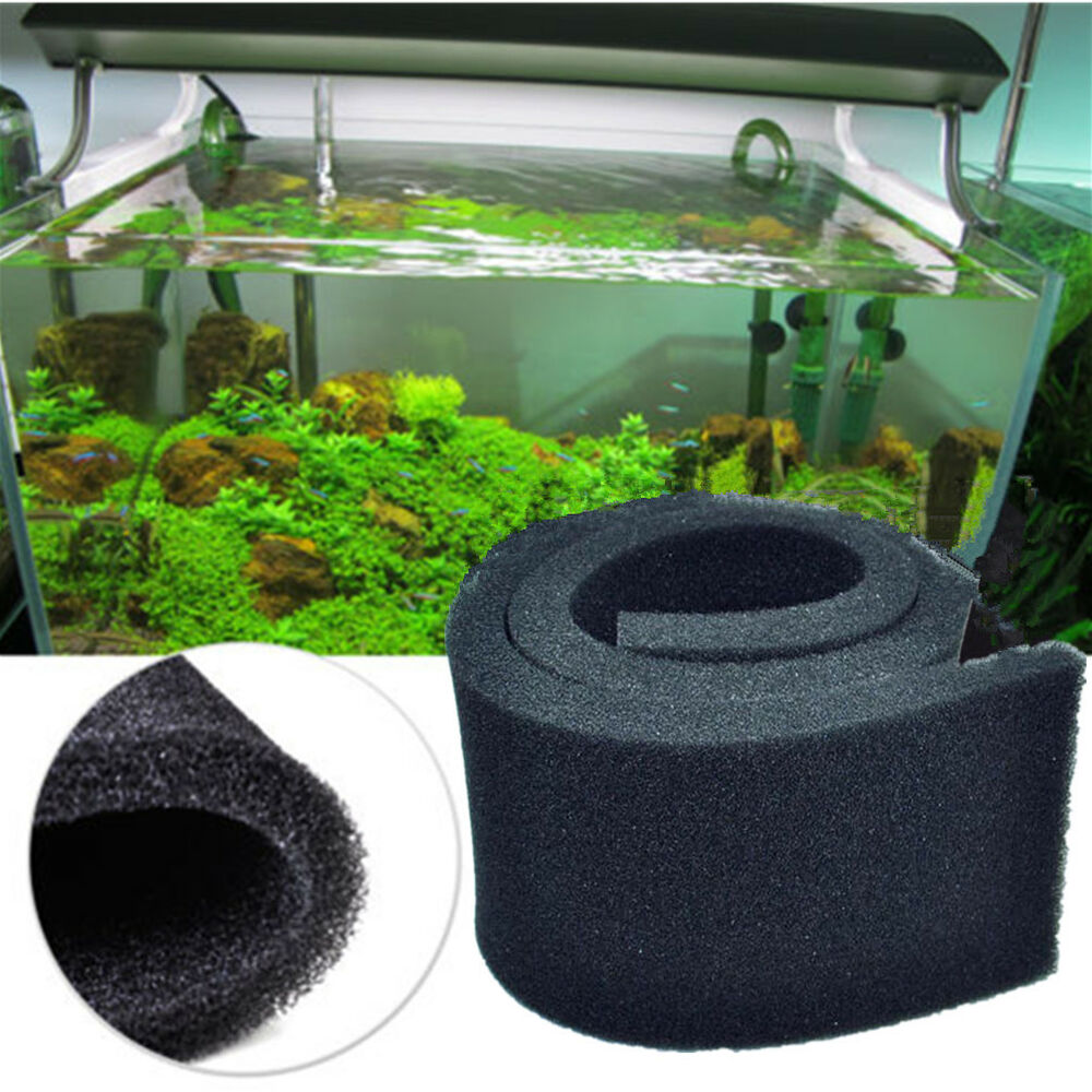 1pc long biochemical filter filtration foam aquarium fish for Pond filter sponges