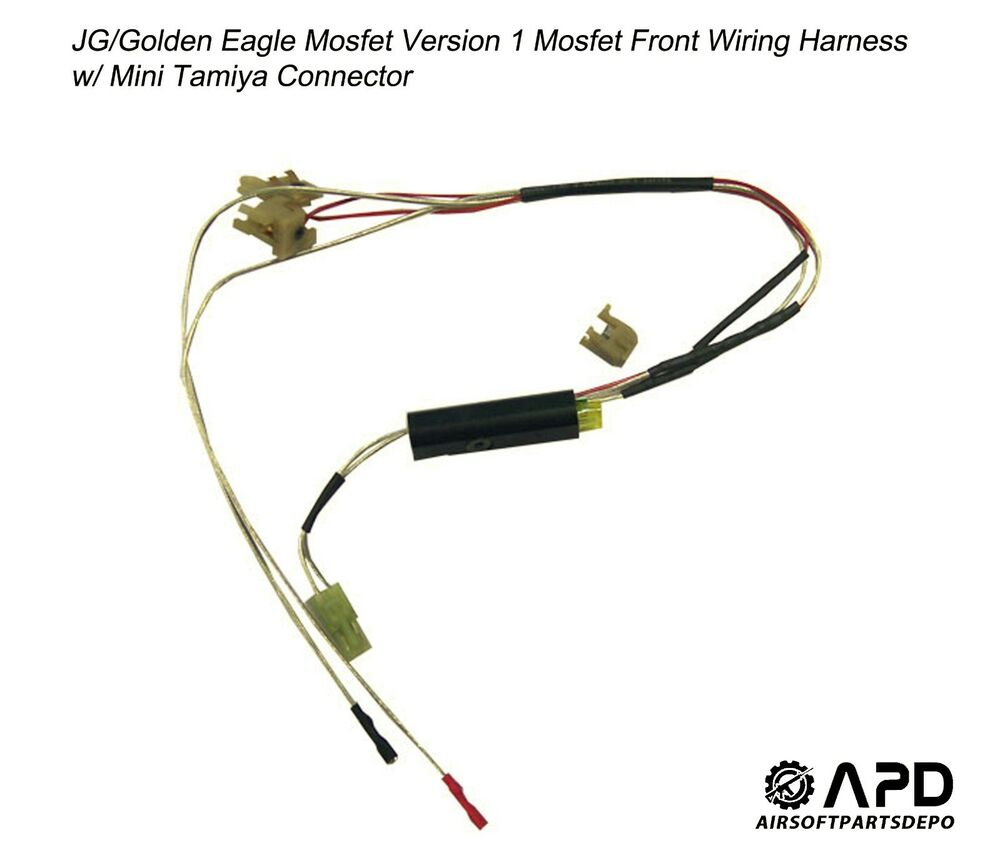 s l1000 jg golden eagle mosfet wiring front harness mini airsoft aeg m4 airsoft wiring harness at n-0.co