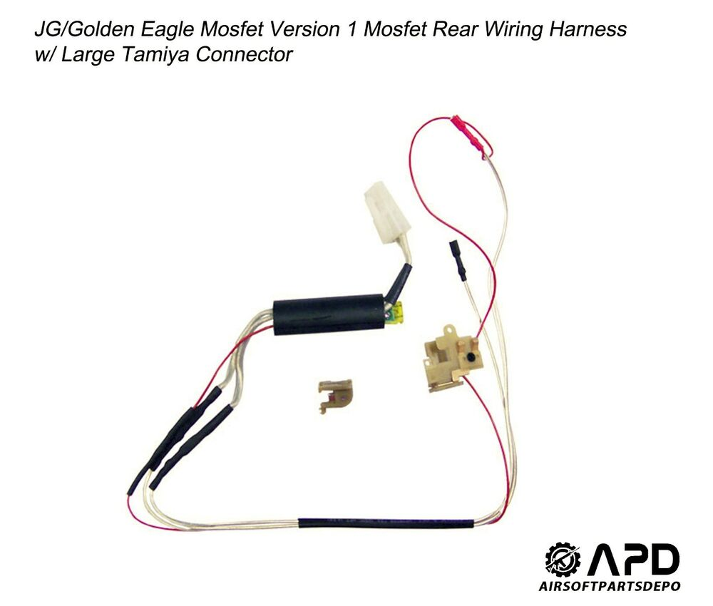 JG Golden Eagle Mosfet Wiring Rear Harness Large Airsoft AEG Version 1 |  eBay