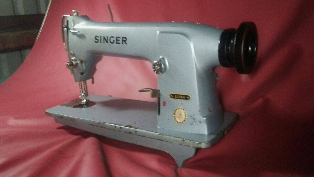 Singer 331K4 Industrial Sewing Machine with Reverse | eBay