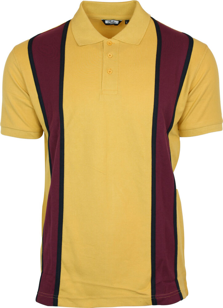 Mens Retro Polo Shirts
