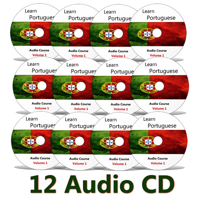 Learn To Speak Continental/European Portuguese on CDs/MP3s