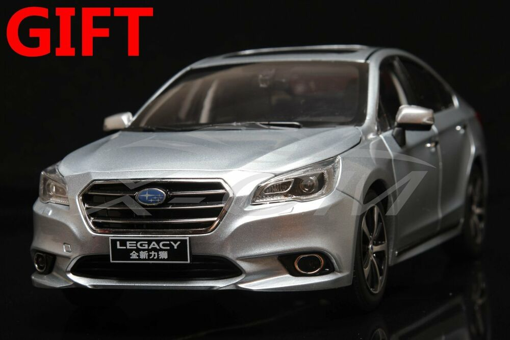 car model subaru all new legacy 1 18 silver small gift ebay. Black Bedroom Furniture Sets. Home Design Ideas