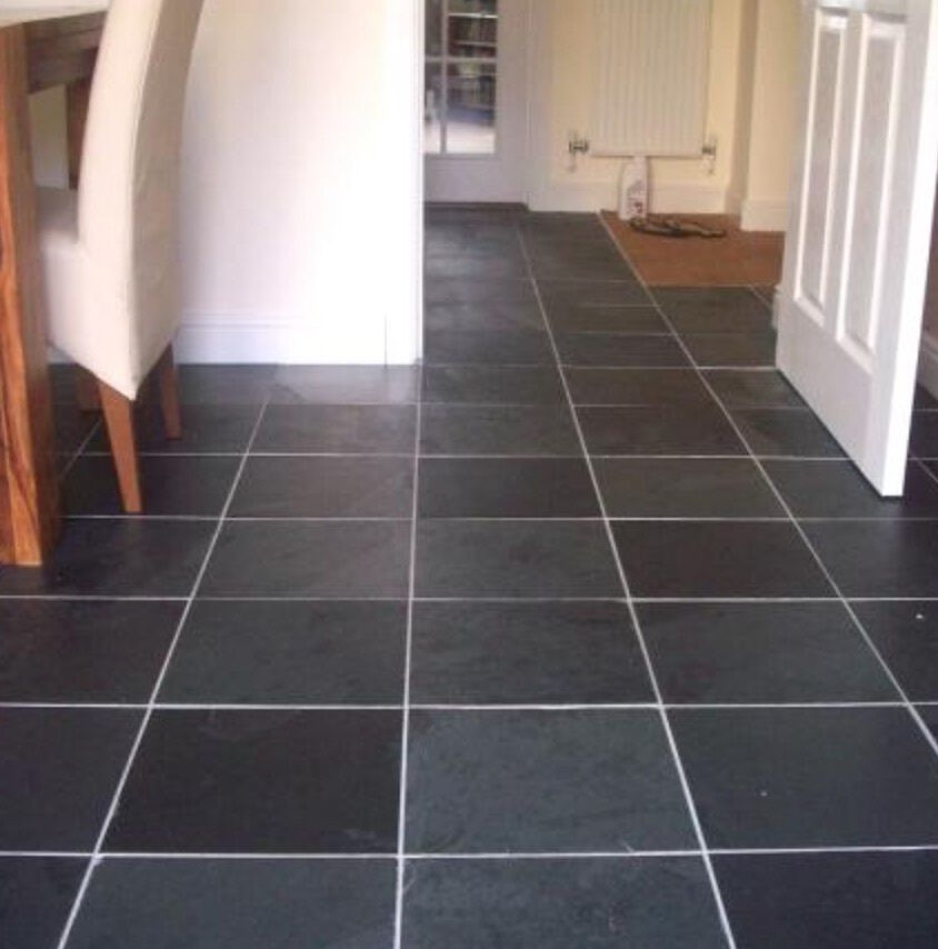 Black Slate Wall Tiles Or Slate Flooring Tiles 400 X 200 Cheap Prices Ebay