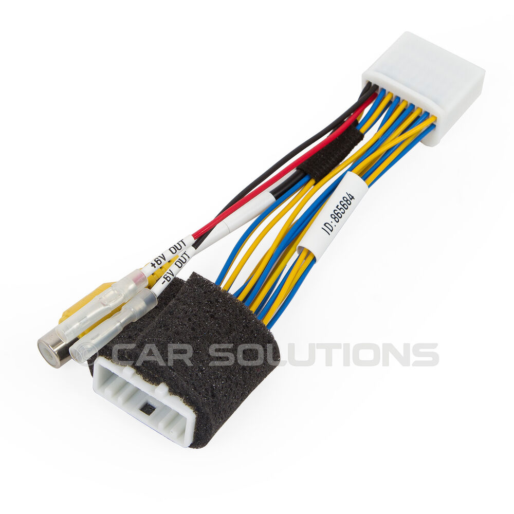Car Camera Connection Cable For Toyota Auris Avensis Camry