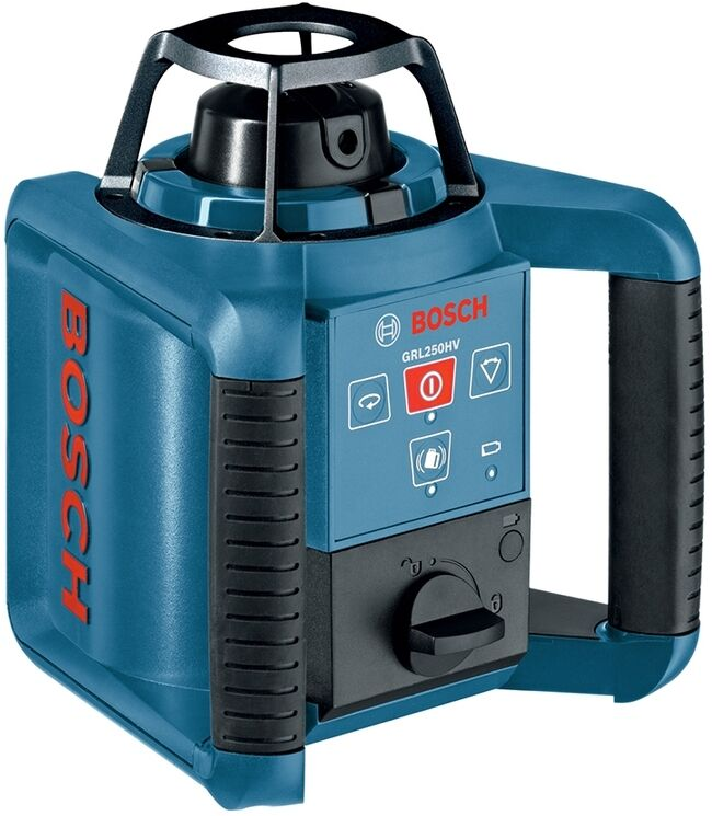 Bosch 1000 Beam Self Leveling Rotary Laser Level Remote Control Dual Sided Ebay