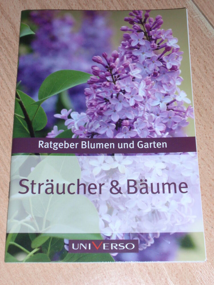 ratgeber garten und blumen str ucher b ume ebay. Black Bedroom Furniture Sets. Home Design Ideas