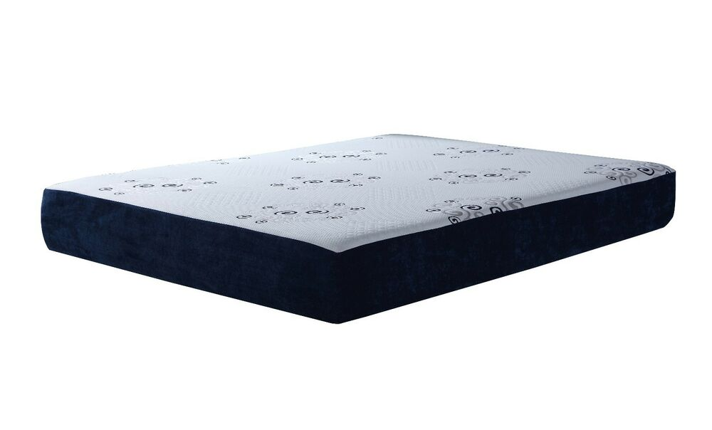 10 inch 3 layer reversible latex memory foam mattress w bamboo queen size ebay. Black Bedroom Furniture Sets. Home Design Ideas