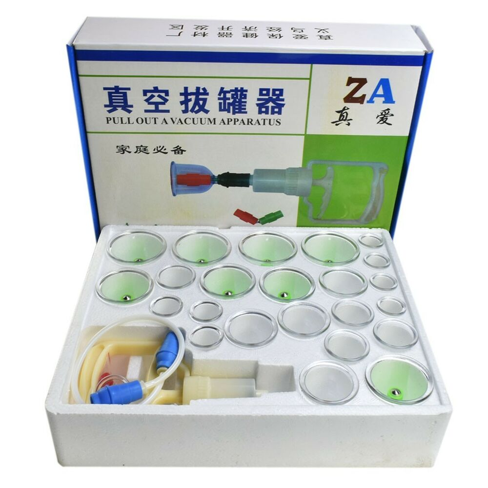 What Does Suction Cupping Your Back Do: Acupuncture Cupping Set Vacuum Massage Therapy Chinese