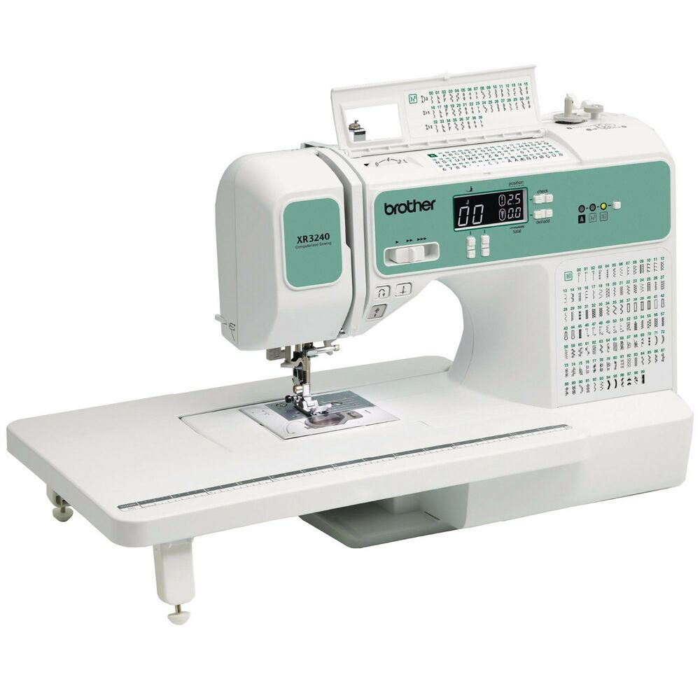 Brother XR3240 Computerized 140 Stitches Sewing Machine ...