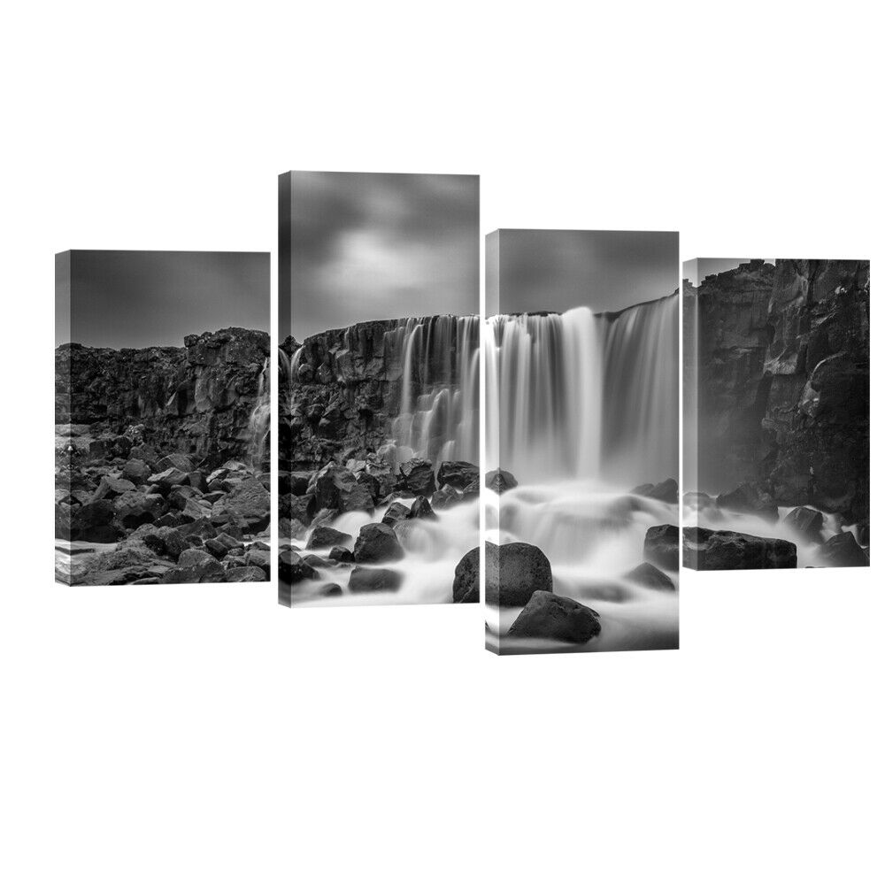 Canvas Print Painting Picture Home Decor Black White