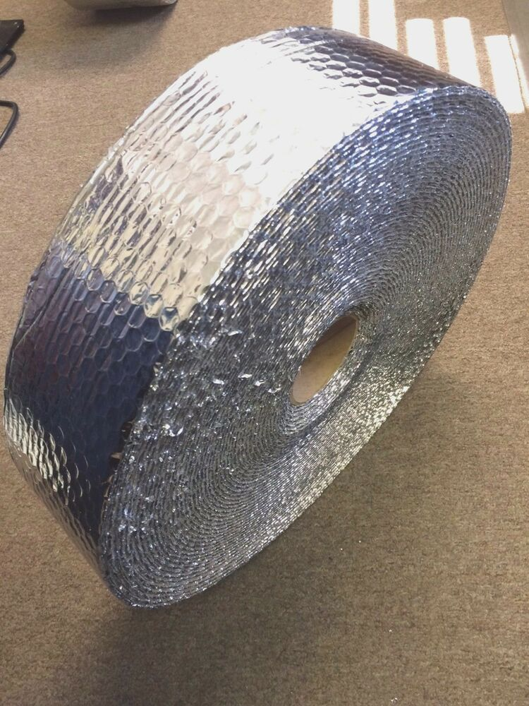 Roll Of Double Foil Regular Bubble Insulation Wrap 3 5 Quot X