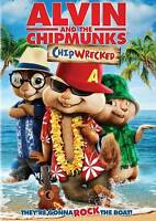 ALVIN AND THE CHIPMUNKS CHIPWRECKED (DVD, 2012)) NEW